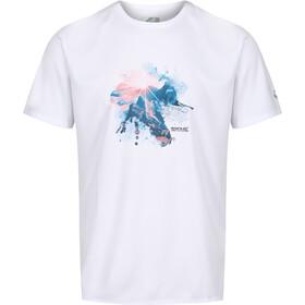 Regatta Fingal V Camiseta Hombre, blanco